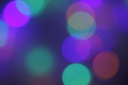 Multicolored bokeh background Banco de Imagens