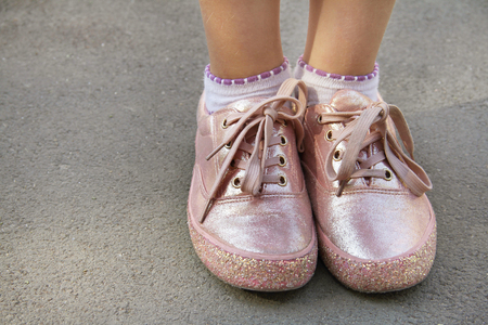 Glitter and shoelaces