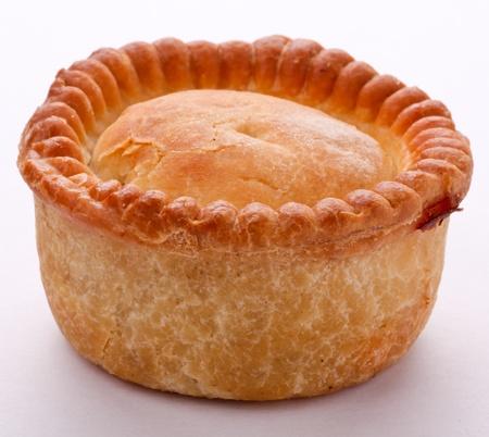 Traditional Pork Pie Stock Photo