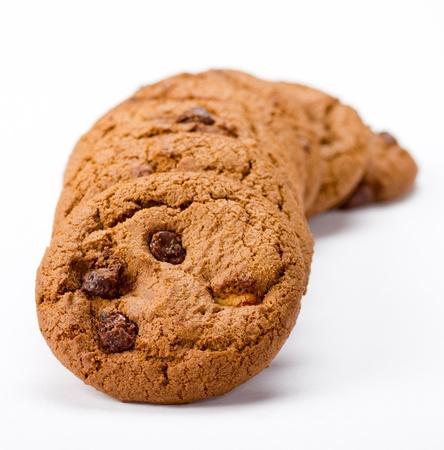 Choc-Chip Cookies Stock Photo