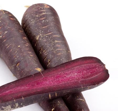 Dark Purple Carrots photo