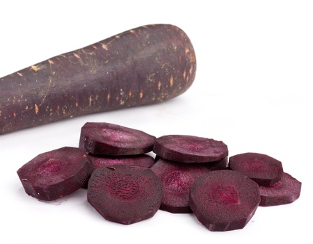 Purple Carrot Rounds