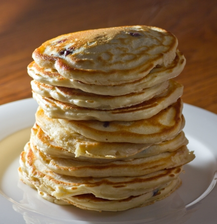 hot cakes: Gran pila Pancake
