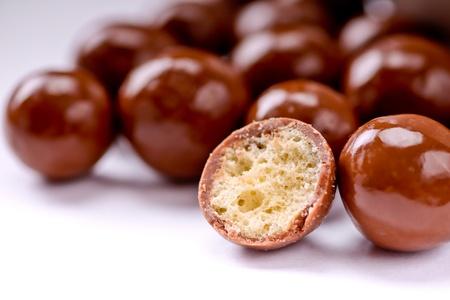 chocolate balls: Chocolate Malt Balls