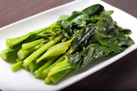 Chinese Broccoli Stock Photo