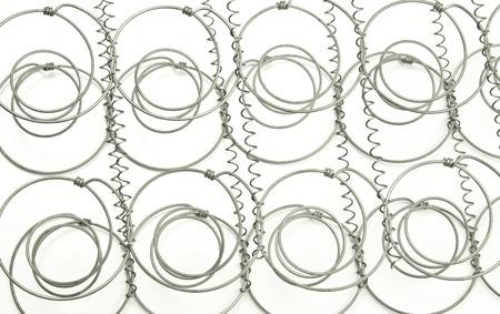spirale: Quellen aus dem Inneren einer Matratze
