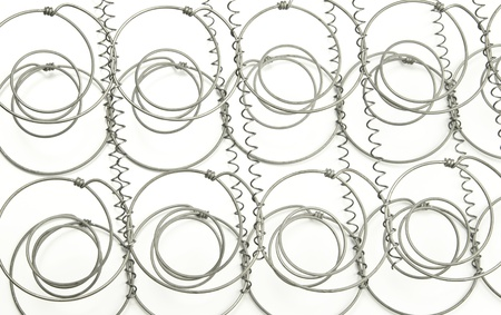 bobina: Springs desde el interior de un colchón