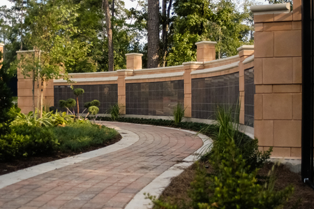 A peaceful garden offers a place to reflect on loved ones' passing