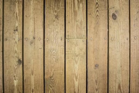 Wooden boards on an outdoor deck Standard-Bild