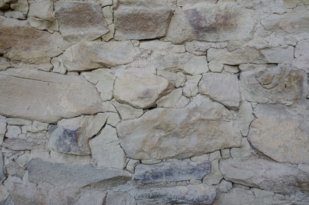 A background image of the masonry at Cliff Palace Stock Photo