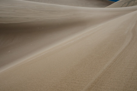 ridge of wave: Layers of ripples and curves across Great Sand Dunes National Park