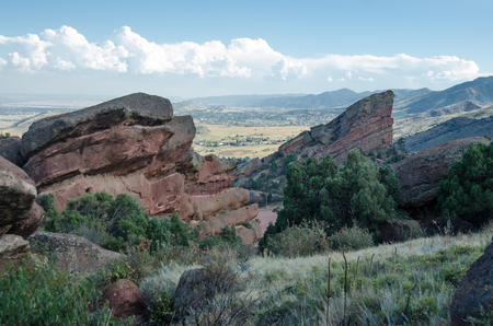 red rocks: Red Rocks in the late afternoon in early fall
