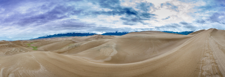 vast: A sweeping panorama of the vast expanse in Sand Dunes National Park