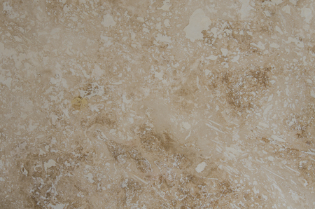 travertine: Travertine tile close up background image with brown and cream swirls Stock Photo