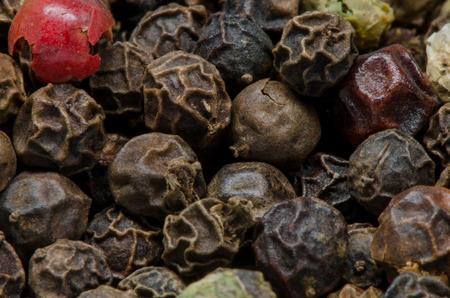 peppercorns: Peppercorns close up with a macro approach