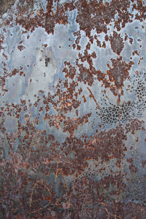 splotchy: Rusted Panel of Steel Vertical background image