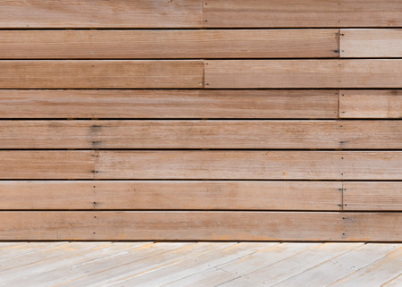 intersects: Decking Board Wall Texture intersects diagonally with wooden floor