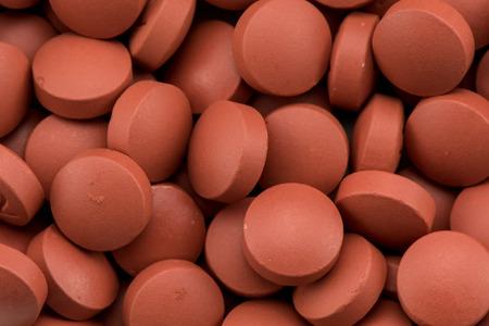 Close Up of Ibuprofen Pills background image