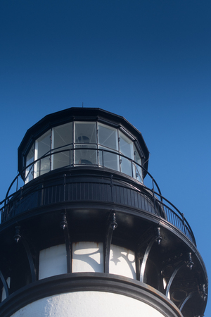 The Top of the Yaquina Head Lighthouse
