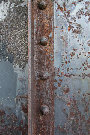 Rusted Rivets in Angle Iron background image