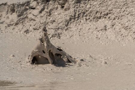 Muddy Hot Spring in Yellowstone Wilderness Area
