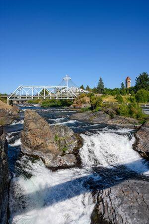 Spokane Washington offers public space along the river