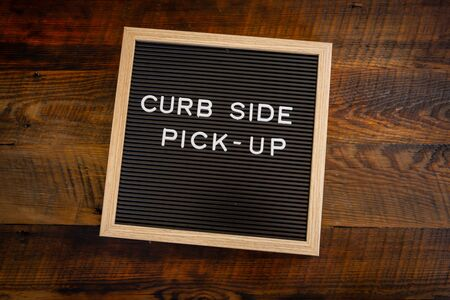 Curb Side Pick Up Centered