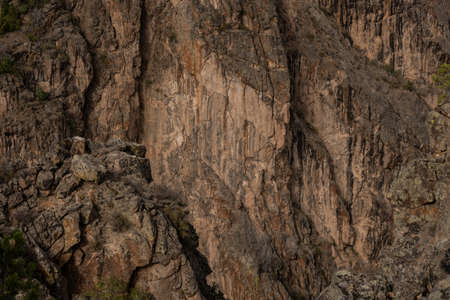 The South Wall Texture of Black Canyon of the Gunnison