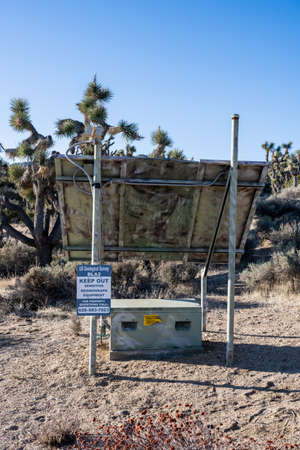 Seismographic Equipment In Joshua Tree National park