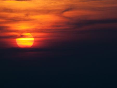 Sunset at Mount Magazine Arkansas