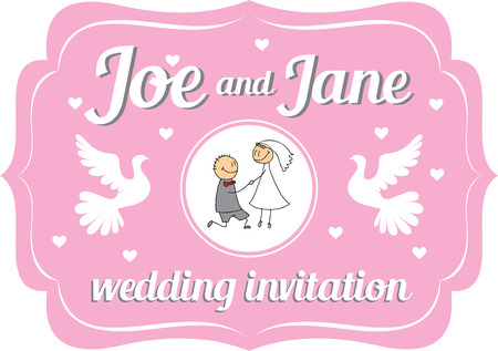happines: Wedding invitation for you happines day