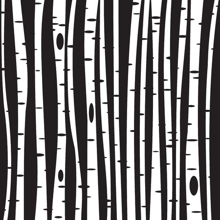 Berken bomen achtergrond voor uw ontwerp