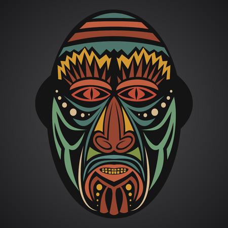 Hervorragend Masque Africain Banque D'Images, Vecteurs Et Illustrations Libres  OI72