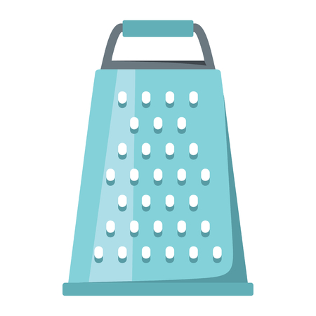 made in china: Grater board cartoon icon. Kitchen tool, cookware and kitchenware vector illustration for you kitchen