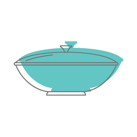 Saucepan in doodle style icons vector illustration for design and web isolated on white background. Saucepan vector object for labels and logo Illustration