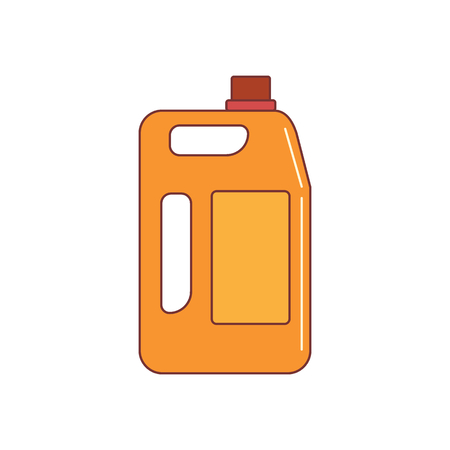 fuel canister icon. Cartoon illustration of fuel canister vector icon for web isolated on white background