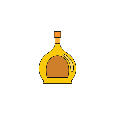 Vermouth icon. Cartoon illustration of Vermouth vector icon for web isolated on white background Illustration