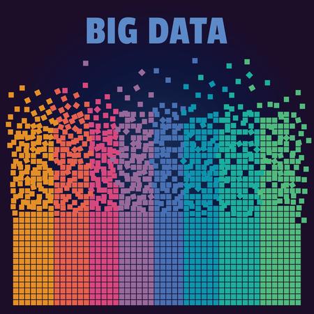 analyse de l & # 39 ; information infographie infographie design Vecteurs