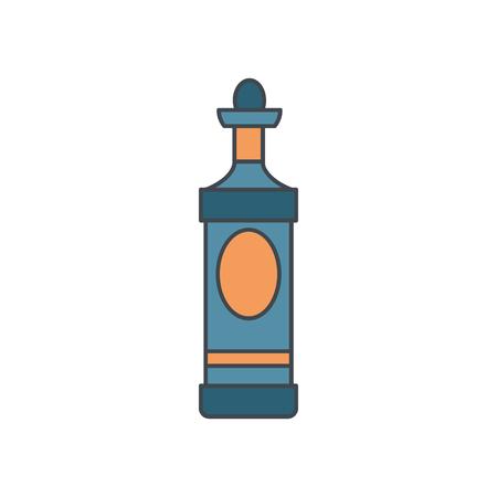 Alcohol bottle cartoon icon. Banco de Imagens - 96046873