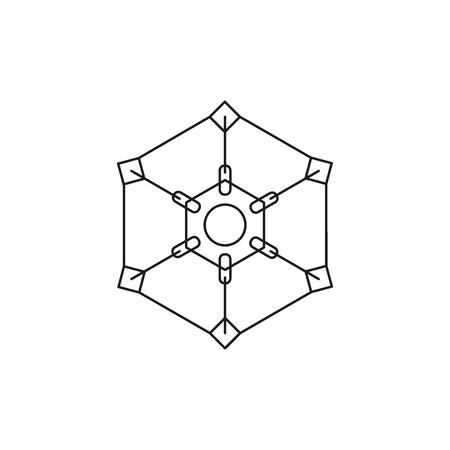 Ipi generation icon. Outline Ipi generation vector icon for web design isolated on white background