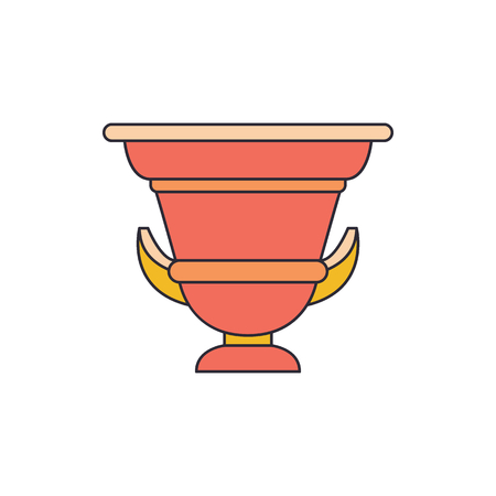 Ancient amphora icon. Cartoon illustration of Ancient amphora vector icon for web and advertising