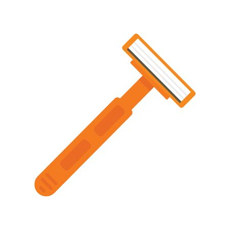 Razor flat icon. Vector Razor shaver in flat style isolated on white background. Element for web, game and advertising