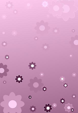 arcane: romantic dark mystical background with many flower