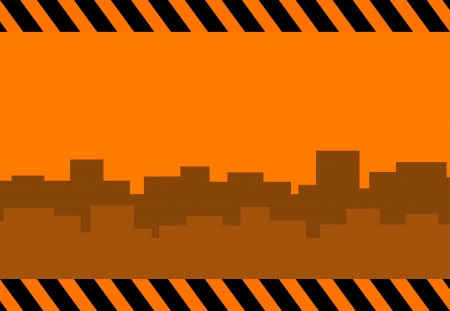urban construction background with city landscape   Vector