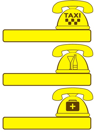 phone background with symbol social services and place for text Vector