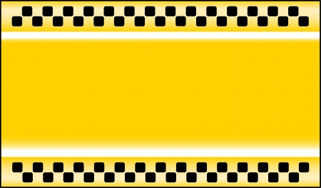 new york taxi: yellow taxi cab background with place for text