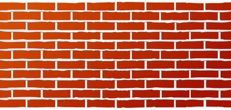 streaks: red industrial brick wall background with streaks of grout