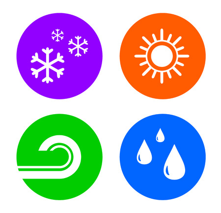 office buttons: set weather buttons icon for office conditioning