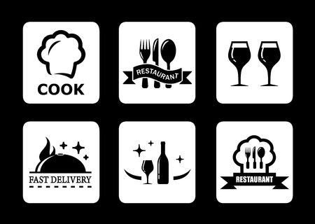 restaurant icoon voor het menu