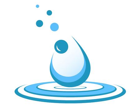 Water drop symbol.